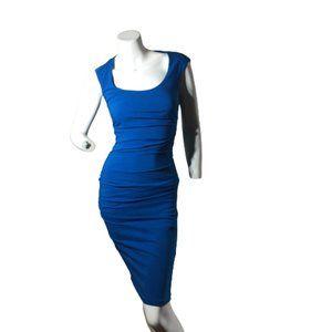 Le Chateau Size XXS Royal Blue Cocktail Dress